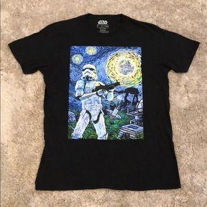 "Fifth Sun Star Wars ""Starry Night"" Graphic T-Shirt"